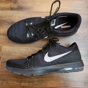 Nike Black Air Max Typha Flywire Training Sneakers
